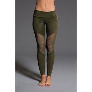 onzie track mesh leggings
